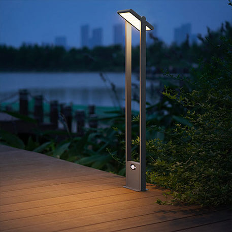 wege lampen mit bewegungsmelder led