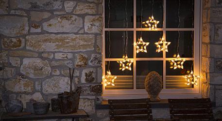 Weihnachtsbeleuchtung Für Balkongeländer.Weihnachtsbeleuchtung Für Innen Und Außen Lampenwelt At