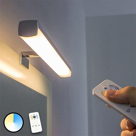 integrierte lampen für spiegel