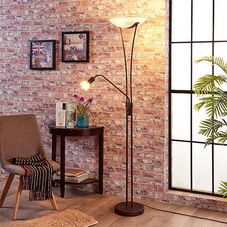 led deckenfluter kaufen top auswahl. Black Bedroom Furniture Sets. Home Design Ideas