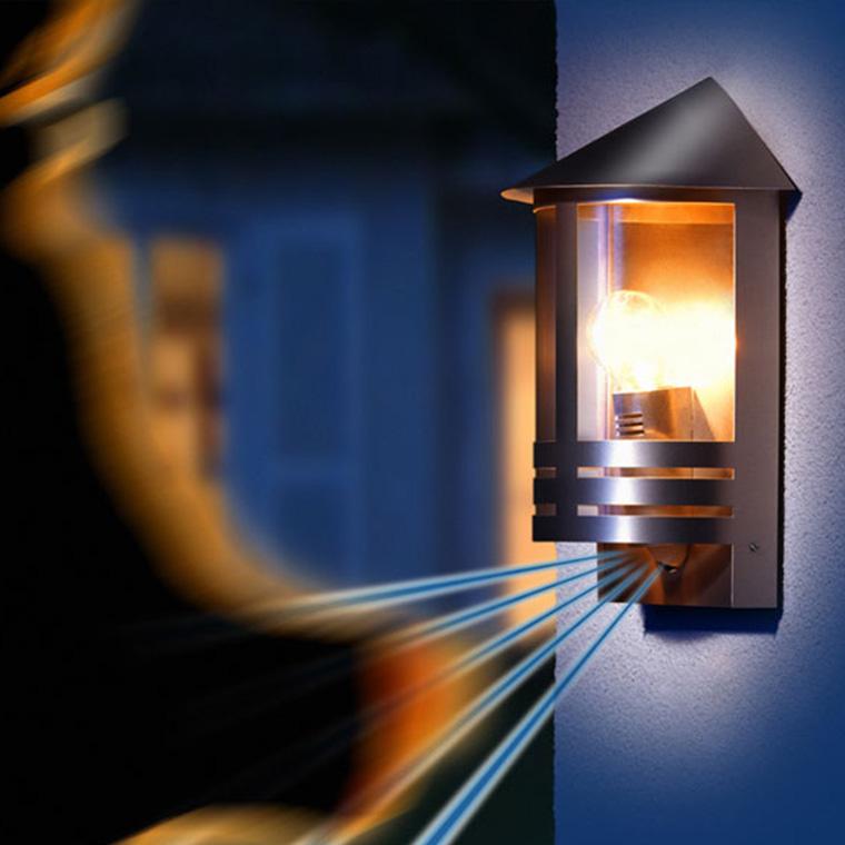 Sensor-Außenwandlampe STEINEL