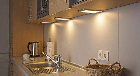 unter lampen für küchenschränke