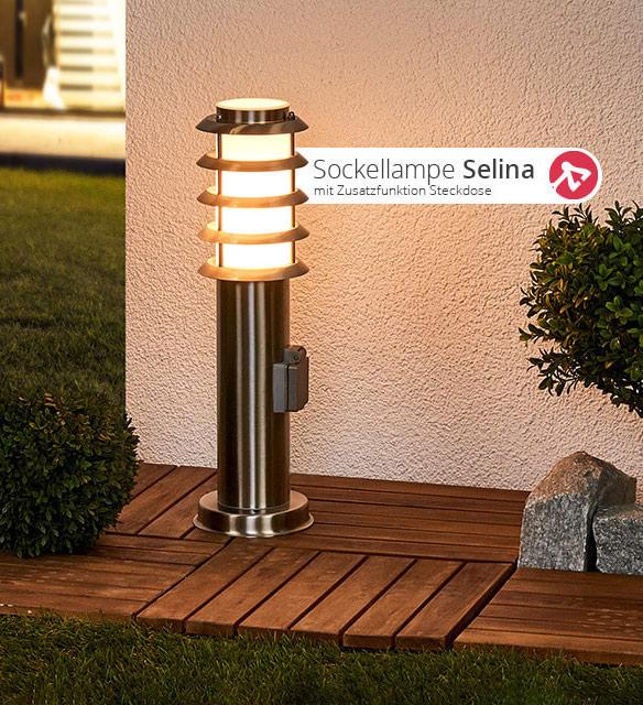 Sockellampe Selina