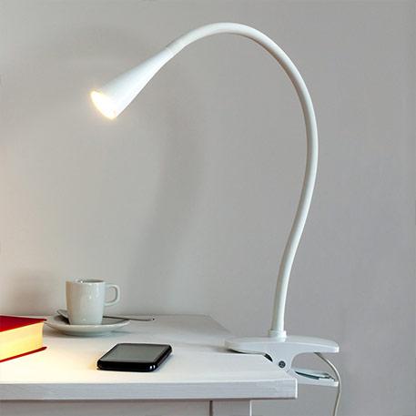 bürotisch lampen klemme