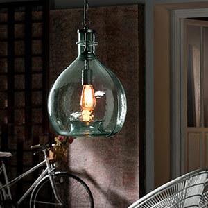 Glas Pendelleuchten & Glas Hängeleuchten   Lampenwelt.at