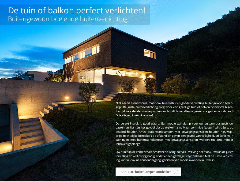 De tuin of balkon perfect verlichten!